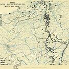 Zwölfter Heeresgruppe Lageplan 13. Oktober 1944 von allhistory