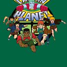 Captain Planet and the Planeteers by McPod