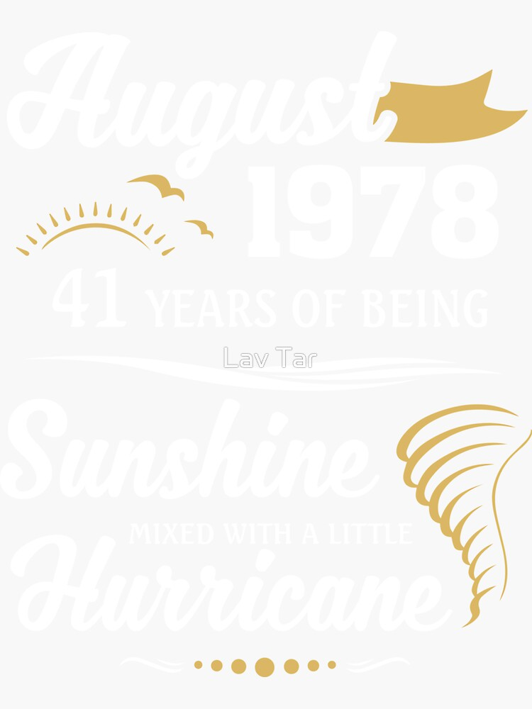 August 1978 Sunshine Mixed With A Little Hurricane by lavatarnt