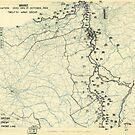 Zwölfter Heeresgruppe Lageplan 17. Oktober 1944 von allhistory
