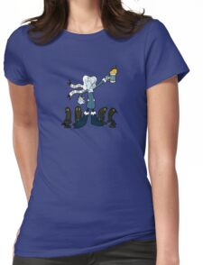 Don't Mess With the Professor Coldheart Womens Fitted T-Shirt
