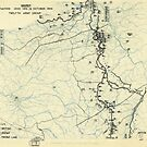 Zwölftes Heeresgruppe Situationsplan 15. Oktober 1944 von allhistory