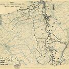 Zwölftes Heeresgruppe Lageplan 18. Oktober 1944 von allhistory