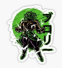 Dragon Ball Broly Sticker