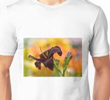 """Daylily """"Rootbeer"""" Unisex T-Shirt"""