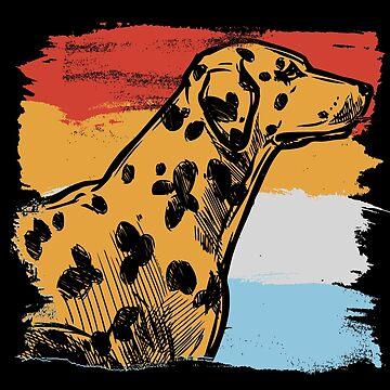 Dalmatian watchdog by GeschenkIdee