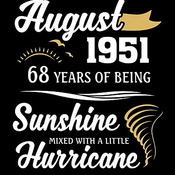 August 1951 Sunshine Mixed With A Little Hurricane by lavatarnt