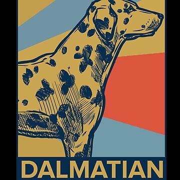 Dalmatian by GeschenkIdee