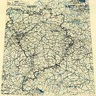 Zwölftes Heeresgruppe Lageplan 20. April 1945 von allhistory