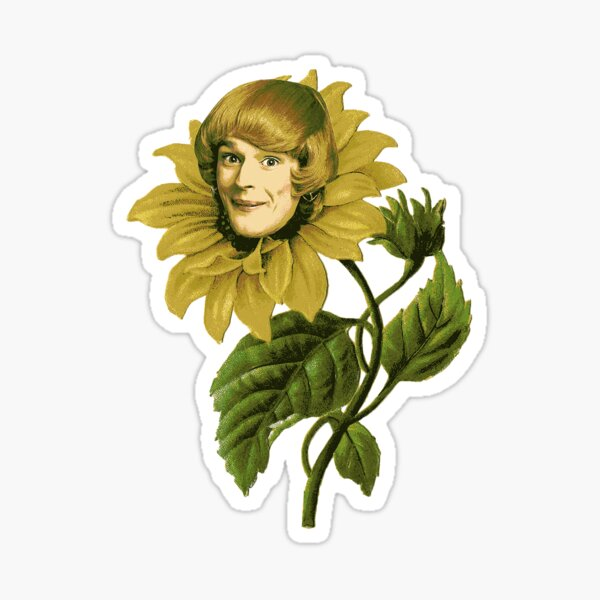 Pamela Hancock Sunflower Sticker