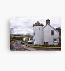 A House In The Country Canvas Print