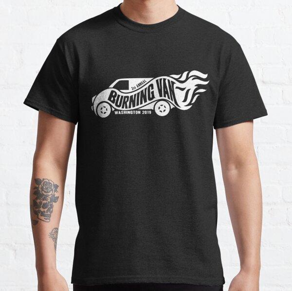 Burning Van 2019 - White Classic T-Shirt