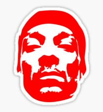Snoop Dogg Red Design Sticker