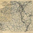 Zwölfter Heeresgruppe Lageplan 5. März 1945 von allhistory