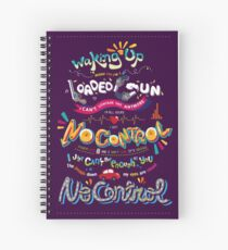 No Control Spiral Notebook