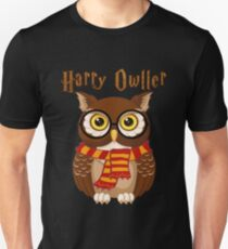 Funny Harry owller t shirt Unisex T-Shirt