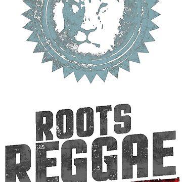 roots reggae lion von Periartwork