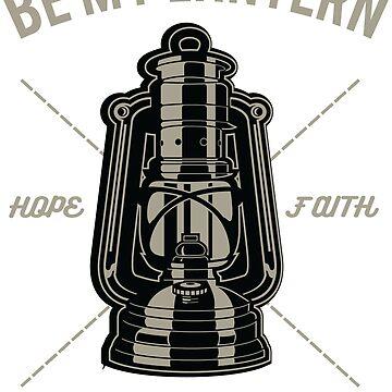 Be My Lantern Help me Shine on Through! Vintage poster design by ThatMerchStore