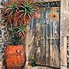 Old door in Anatoli village - Crete, Greece. by Hercules Milas