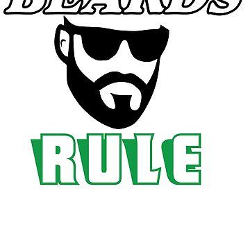 Beards Rule by ThatMerchStore