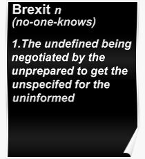 Funny Brexit Posters Redbubble