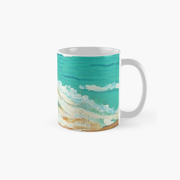 Composition in Orange and Blue Classic Mug