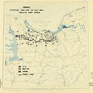 Zwölfter Armeegruppen-Lageplan 24. Juli 1944 von allhistory