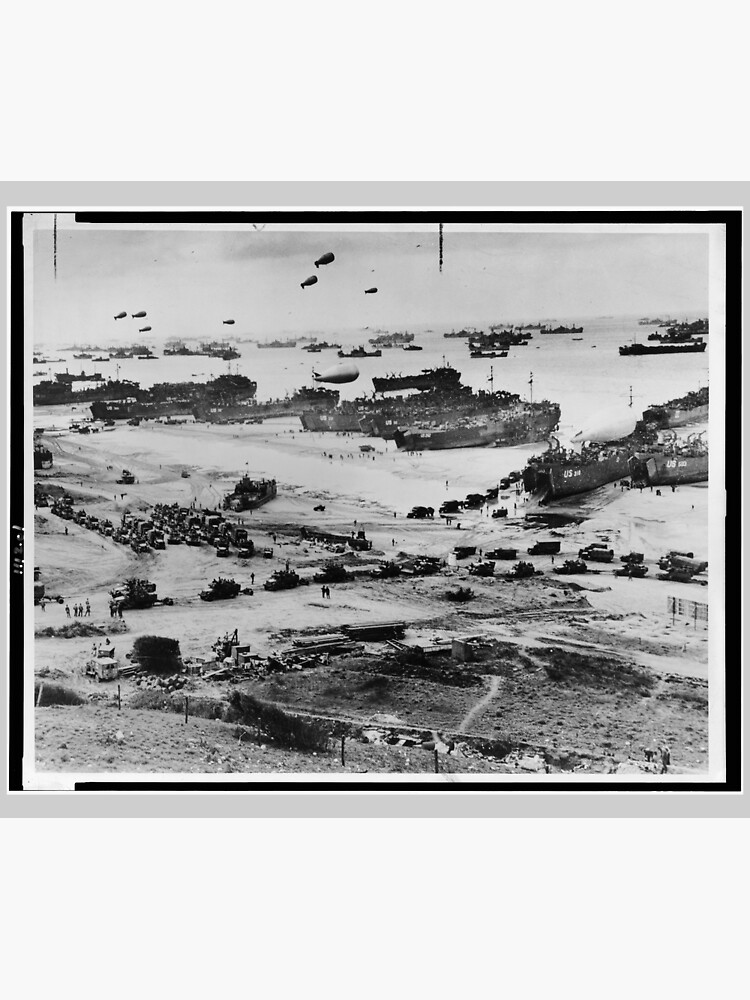 Landing Craft in Normandy France on D-Day June 6 1944 by allhistory
