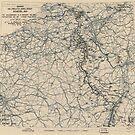 Zwölfter Heeresgruppe Lageplan 17. Februar 1945 von allhistory