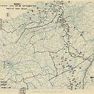 Zwölfter Armeegruppe - Lageplan 28. September 1944 von allhistory