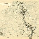 Zwölfter Heeresgruppe Lageplan 11. Dezember 1944 von allhistory