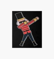 Dabbing Nutcracker Christmas Art Board