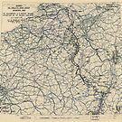 Zwölfter Heeresgruppe Lageplan 5. Februar 1945 von allhistory