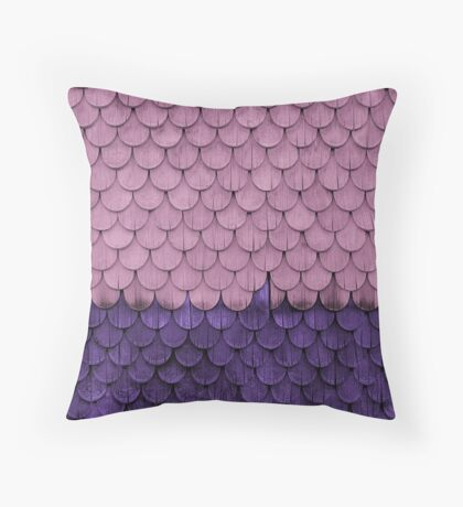 SHELTER / Ultra Violet, Pink Lavender Throw Pillow