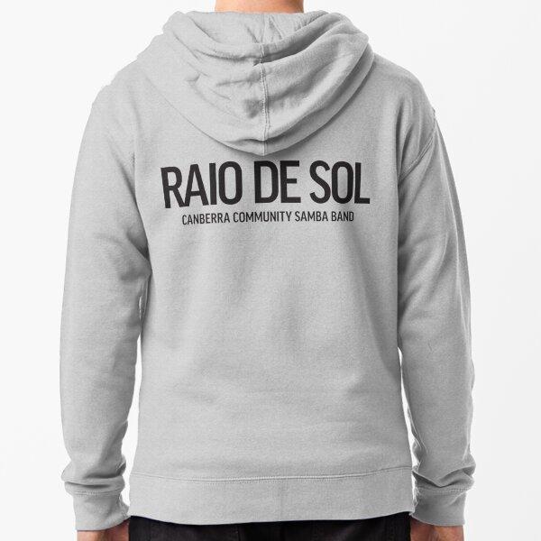 Raio De Sol - Text Zipped Hoodie