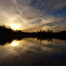 Goldwater Lake Reflection by K D Graves Photography