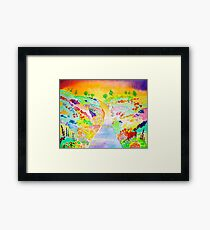 spring back to Oz......:) Framed Print
