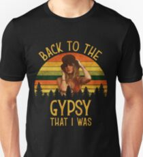 Zurück zu den Zigeunern, dass ich Vintage Retro T-Shirt war Slim Fit T-Shirt