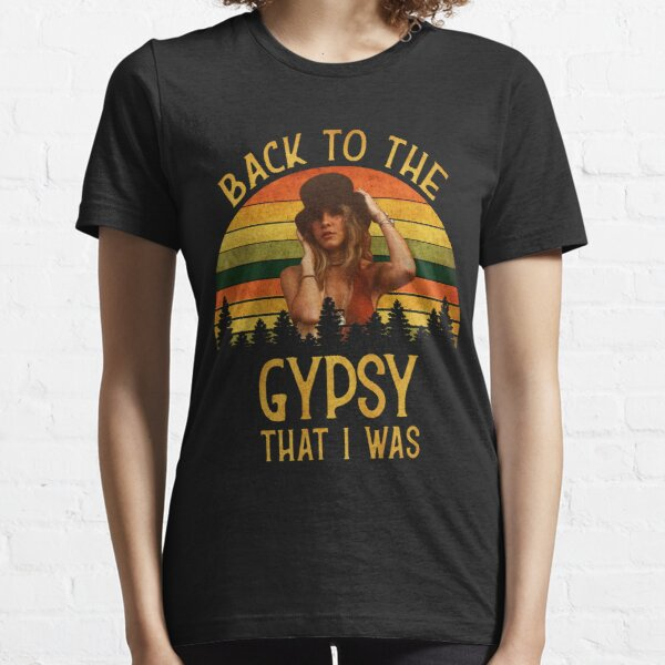 Back To The Gypsy That I Was vintage Retro T-Shirt Essential T-Shirt