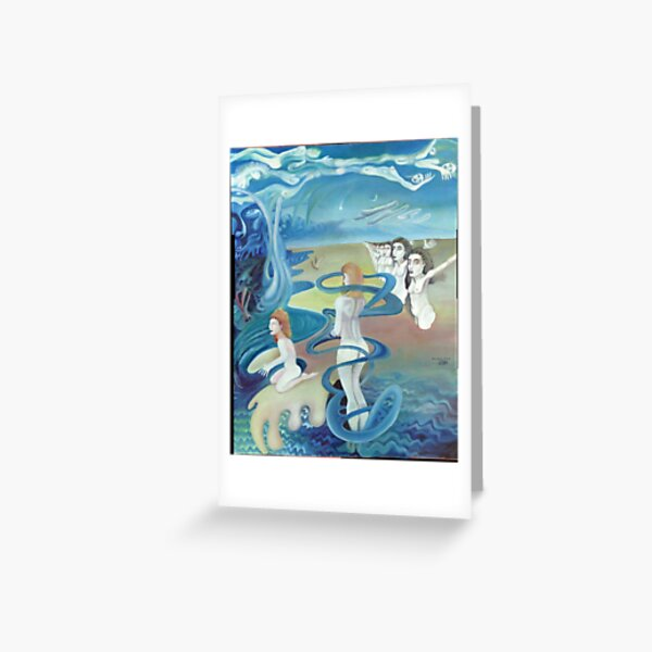 Narcissus Echo Greeting Card