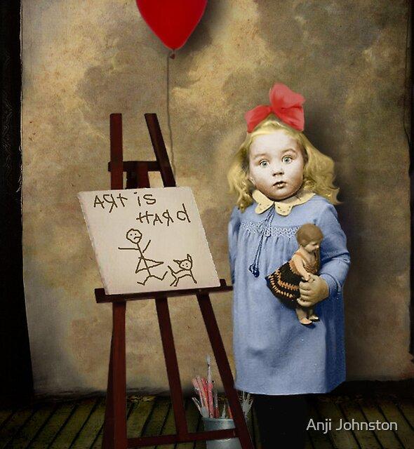 Art Is Hard by Anji Johnston