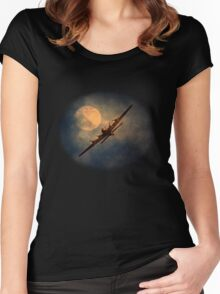 Night Flight - New Products Women's Fitted Scoop T-Shirt