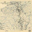 Zwölftes Heeresgruppe Lageplan 18. November 1944 von allhistory