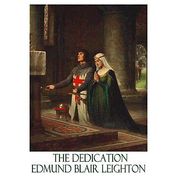 «La dédicace par Edmund Blair Leighton» par Chunga