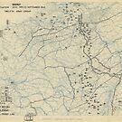 Zwölftes Heeresgruppe Lageplan 23. September 1944 von allhistory