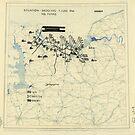 Zwölfter Heeresgruppe Lageplan 7. Juni 1944 von allhistory