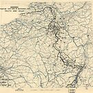 Zwölfter Heeresgruppe Situationsplan 15. Dezember 1944 von allhistory