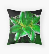 St. Paddy's Day Lily Throw Pillow