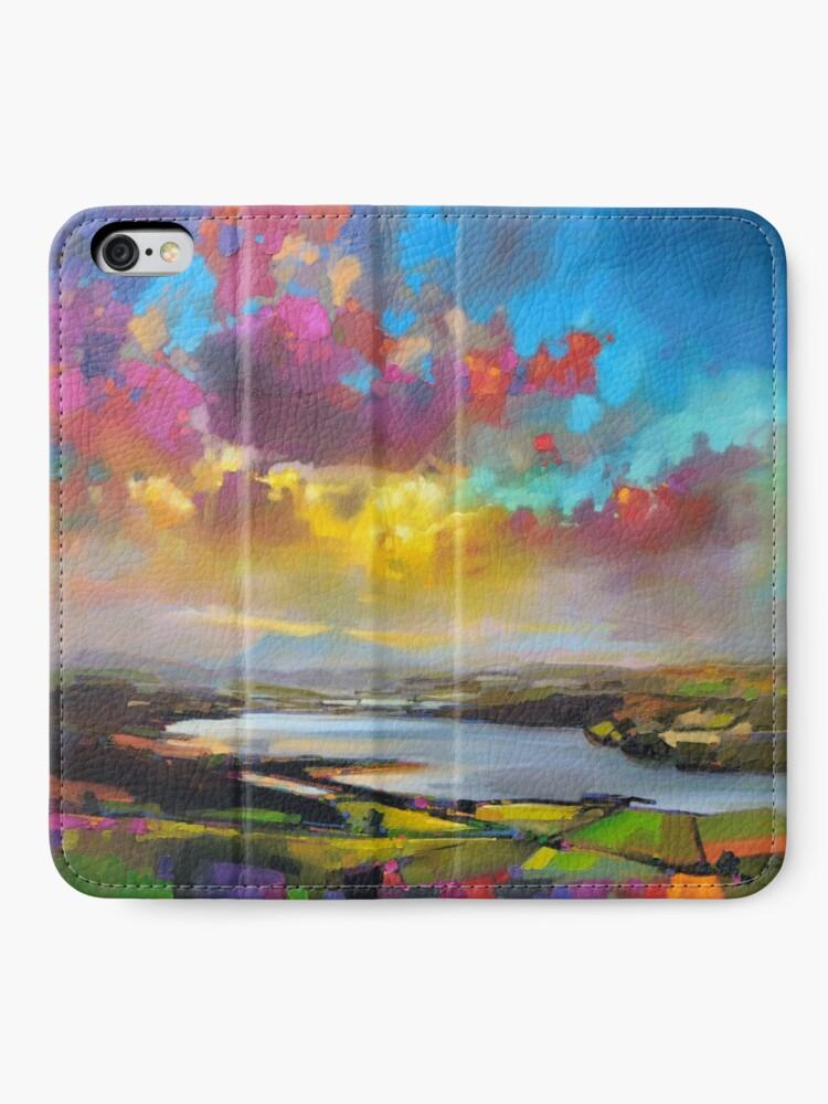 Alternate view of Struie Hill, Dornoch, Scotland iPhone Wallet