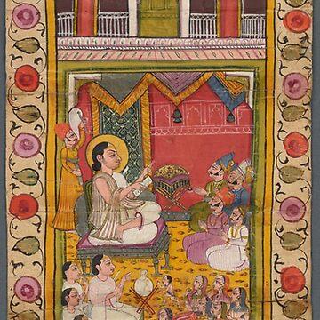 Vintage Indian pattern art by Geekimpact